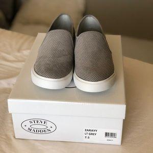 Steve Madden Light Grey Shoes